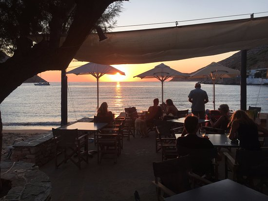 Kamares, Griechenland: Isalos at sunset