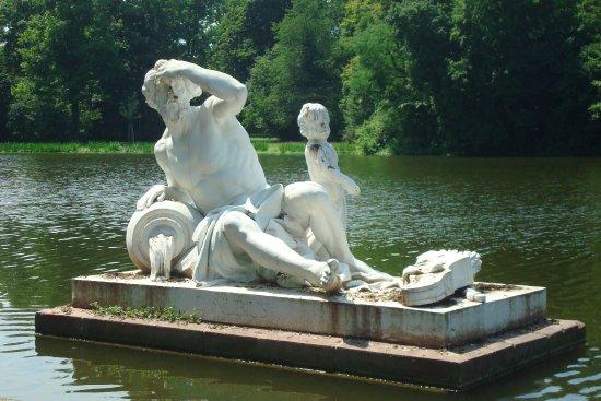 Schwetzingen Castle (Schloss): Danube river god