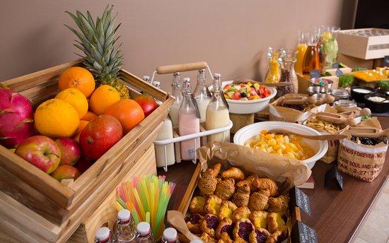 Astor Riga Hotel & Conference: Breakfast Buffet