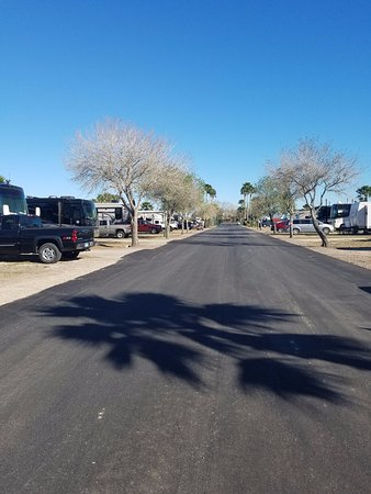 Los Fresnos, TX: New wide paved streets