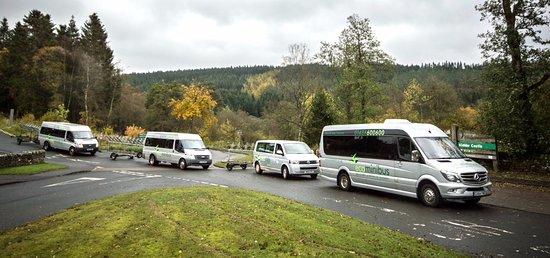 Hexham, UK: Minibuses
