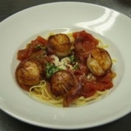 Cafe Cimino Country Inn Restaurant: Pan Seared Sea Scallops