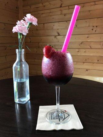 Monroe, MI: Frozen red berry sangria