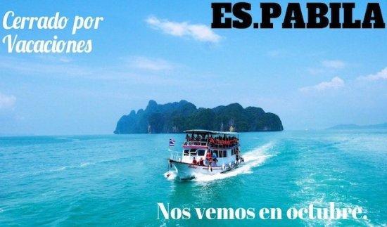 Bar Cantina La Lonja Del Pescado: COCINA CERRADA DEL 18/09/17 HASTA 17/10/17!!! DISCULPEN LAS MOLESTIAS