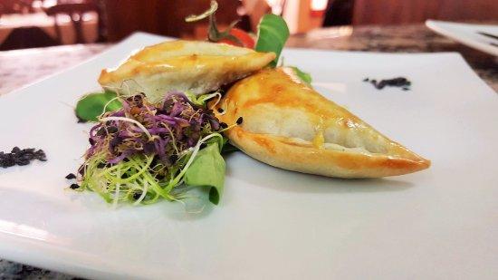Ristorante Cinquecento: Menú del día restaurante italiano Cinquecento: Panzerotti fritti napoletani