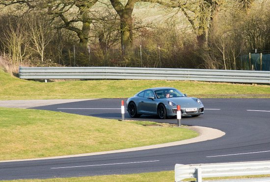 Porsche Experience Centre: On the country lane track