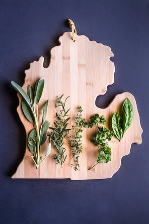 Monroe, MI: House grown herbs