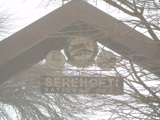 Arusha Region, Tanzania: brama wjazdowa