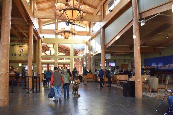 McKinley Chalet Resort: Resort Main Lodge area