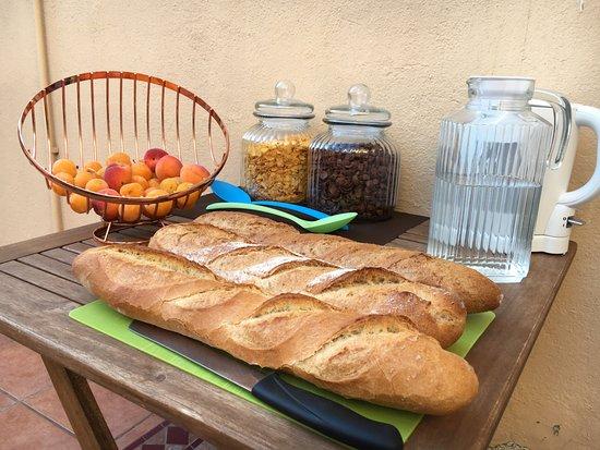 Le Boulou, France: Petit-Déjeuner