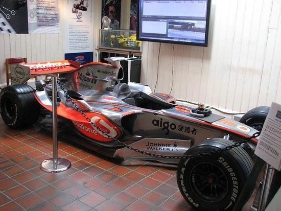 Weybridge, UK: Plenty of Racing cars through the ages