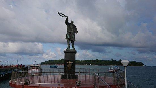 Rajiv Gandhi's Statue