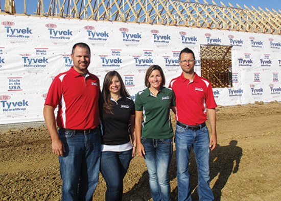 Marietta, OH: Meet the owners.  (left to right) Kyle and Kristen Huck, Missy and Chad Huck