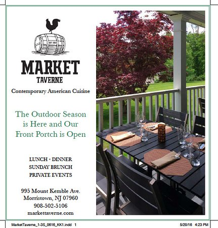 Morristown, Nueva Jersey: Stop By and Enjoy Our Front Porch!