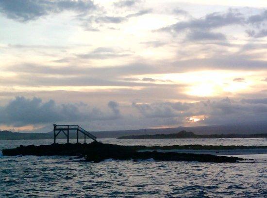 Atardecer en la Playa de Isabela