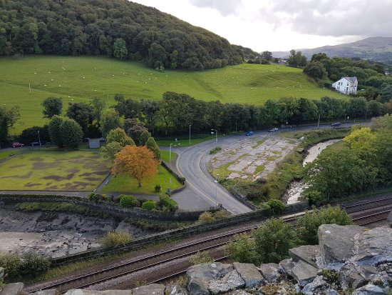 Conwy Castle: Views from the castle