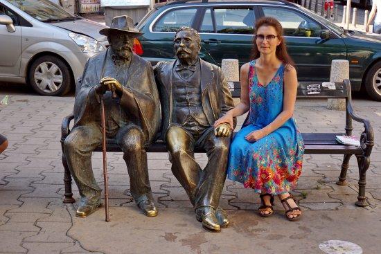 Statue of Slaveikovs