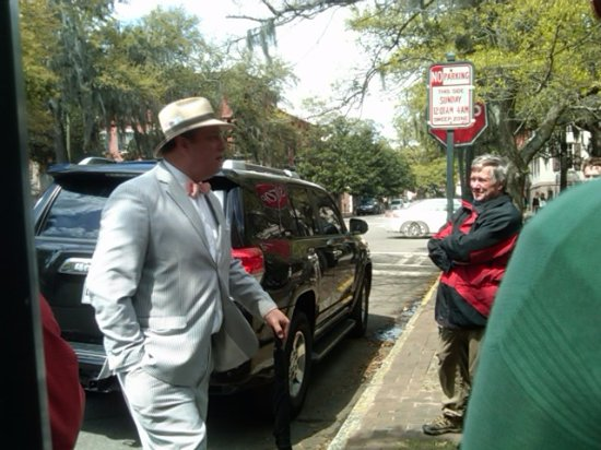 Savannah Dan Walking Tours: He knows the city and its lore so very well.