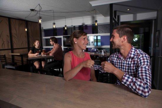Saint-Ferdinand, Canada: Espace bar