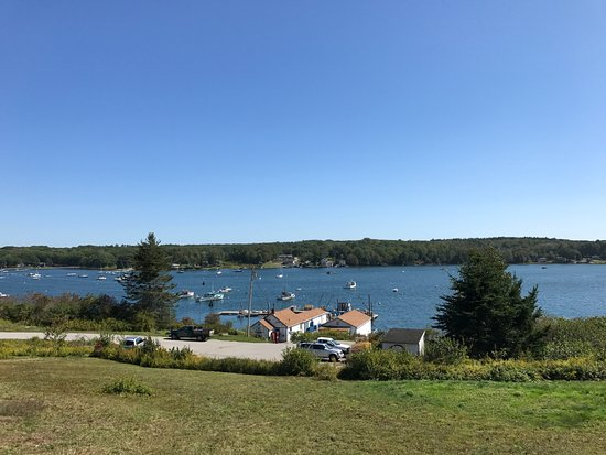 Pemaquid, Μέιν: Lunch with a View