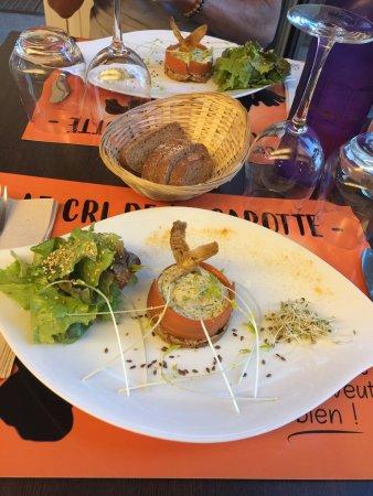 Puisserguier, France: Exemples de plats de la formule du jour, hummm !!