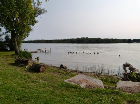 Dunnville, Kanada: View of the Grand River