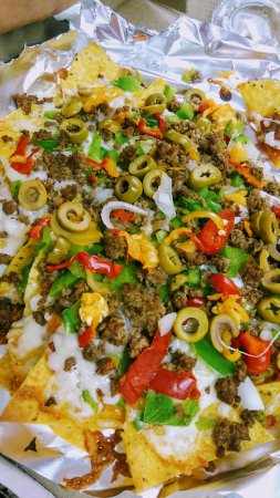 Rockland, Καναδάς: Nachos Supreme with Ground beef