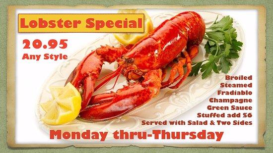 Mineola, NY: Lobster Special