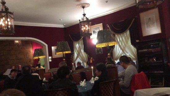 Literary Cafe: O restaurante.