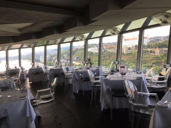 UFO Observation Deck: Restaurant deck