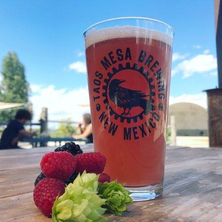 El Prado, NM: Our raspberry Hefeweizen