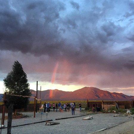 El Prado, NM: Always amazing sunsets from The Mothership