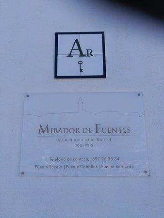 Fuentes de Leon, Spanyol: Mirador de Fuentes