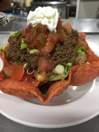 North Battleford, แคนาดา: Taco salad