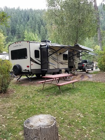Lightner Creek Campground: Campsite #34