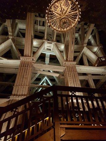 Biggest chandelier picture of auschwitz salt mine tours krakow auschwitz salt mine tours biggest chandelier aloadofball Gallery