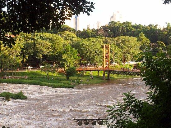 Piracicaba, SP: Foto tirada do ponto de observação do mirante.