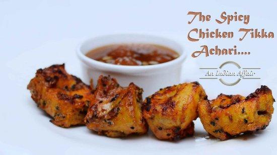 Langley, Canadá: The Spicy Chicken Tikka Achari...