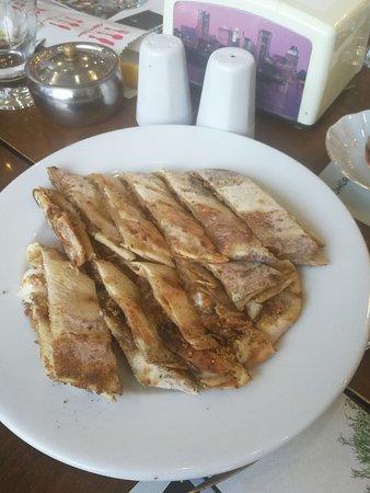 Best pide with manda kaymak