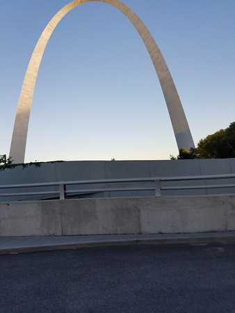 View of Arch from Old Courthouse