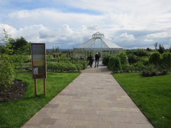 Chelmsford, UK: Entrance to the Global Growth Vegetable Garden