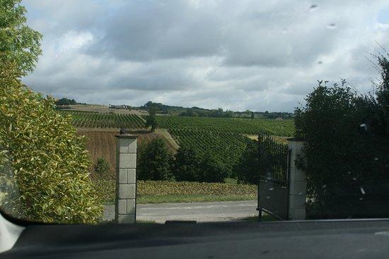 Gaillac, Frankrig: View through the entrance gates
