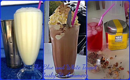 Amamoor, Australia: milkshakes, iced coffee, iced tea