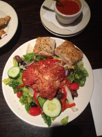 Newington, CT: Meatball Salad