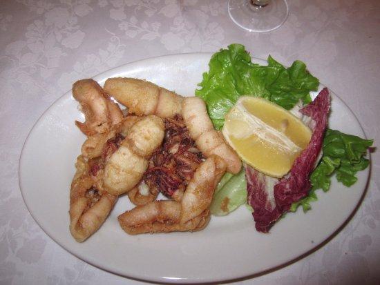 Ristorante Da Mario: Totani fritti