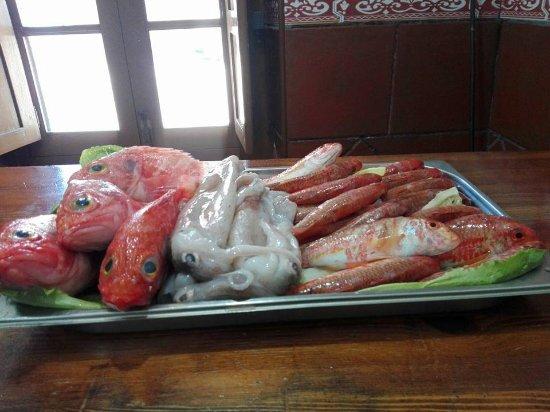 San Roque, España: Nuestro pescado