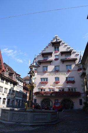 City-Hotel Ochsen Zug: Снаружи как конфетка, изнутри - не очень