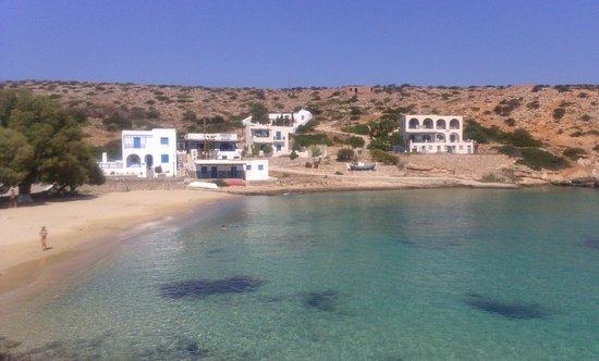 Agios Georgios, Grekland: la spiaggia