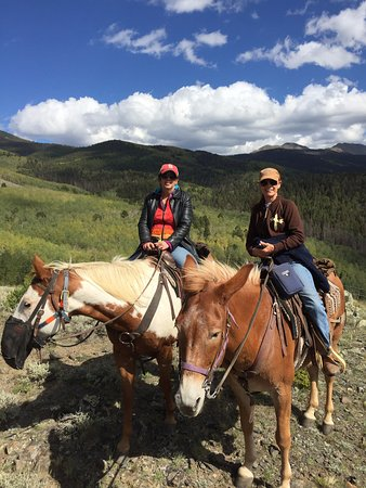 Salida, CO: Such a beautiful place to ride. Great riding stock.