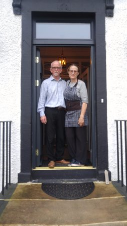 Craignure, UK: Tony and Fiona, Innkeepers of excellence